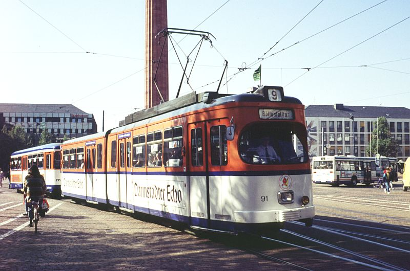 Darmstadt Strassenbahn
