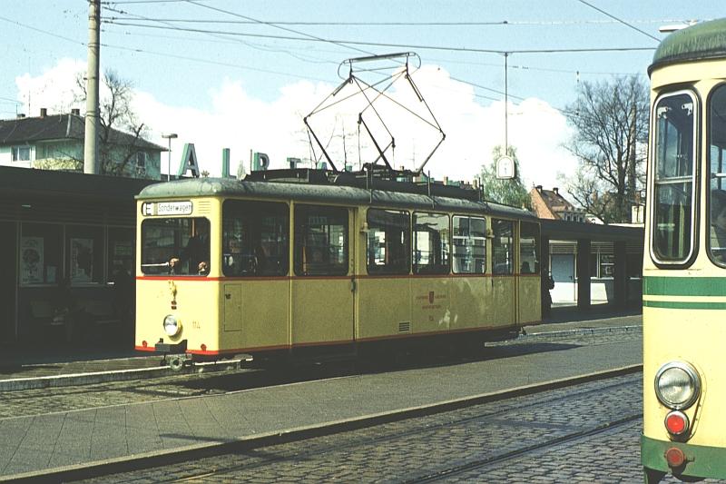 100 Stra Enbahnbetriebe Karlsruhe